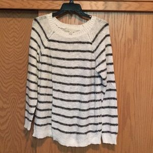 Forever 21- Black and white striped sweater